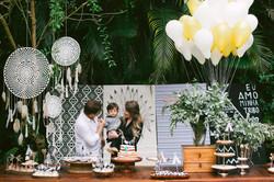 festa infantil no parque tema indio