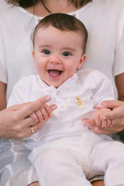 bebê batizado
