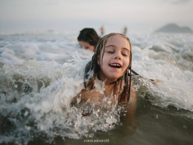Nesse mesmo mar, só que feito de outras ondas