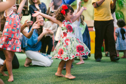 festa infantil buffet casa amarela