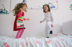 ensaio de familia em casa mãe fotografia espontanea