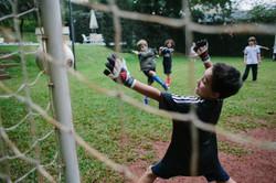 festa infantil em casa futebol
