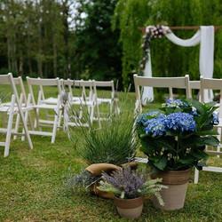 Ceremonias románticas en los jardines