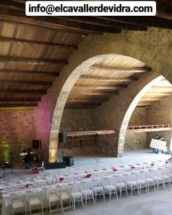 Cabanya de El Cavaller para eventos