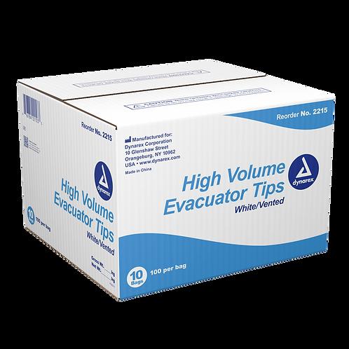 High Volume Evacuator Tips