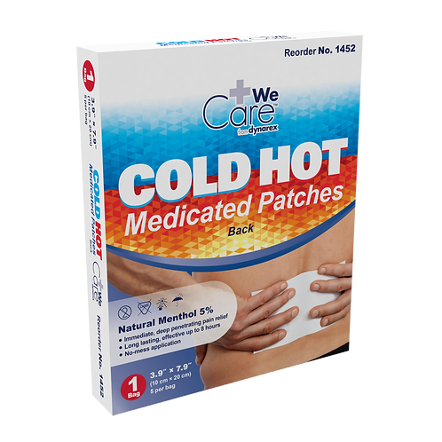 Cold Hot Medicated Patches