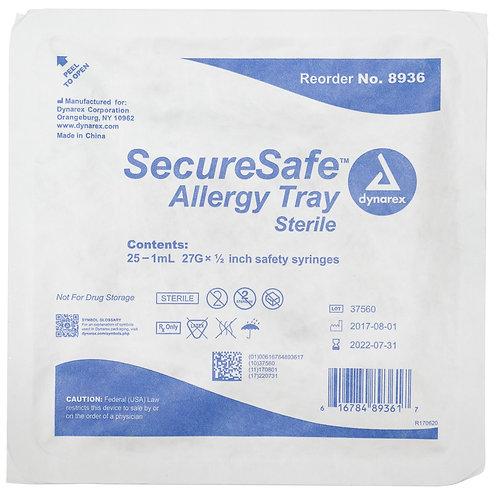 SecureSafe Allergy Safety Syringe Tray