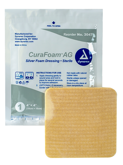 CuraFoam AG Silver Foam Dressings