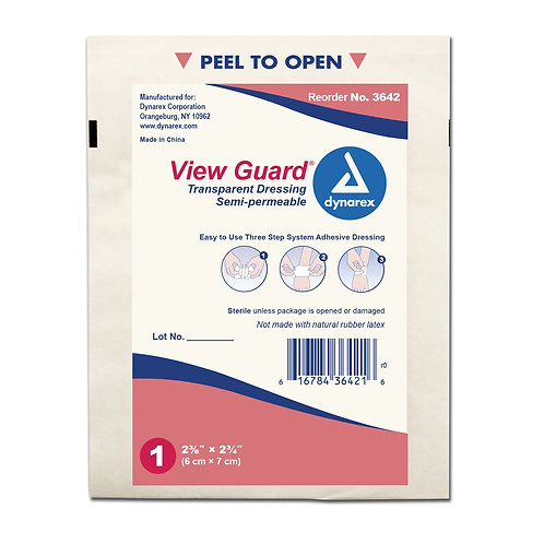 View Guard Transparent Dressings - Sterile