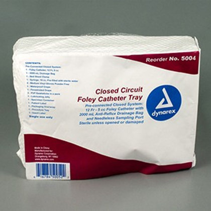 Closed Circuit Foley Catheter Trays