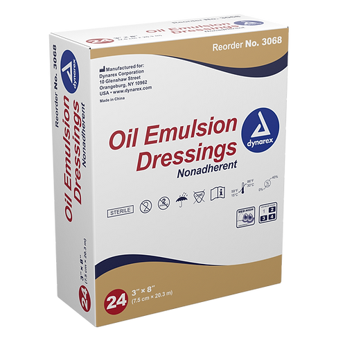 Oil Emulsion Dressings