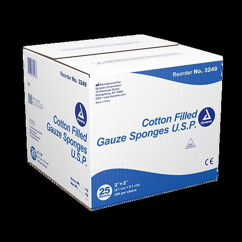 Cotton Filled Gauze Sponge - Exodontia Sponge