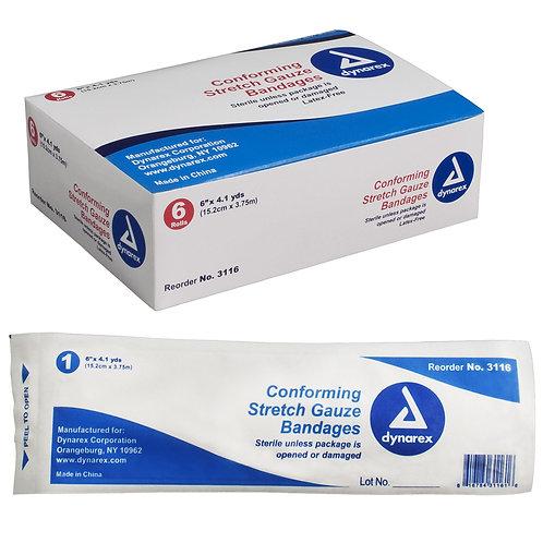 Stretch Gauze Bandages - Sterile