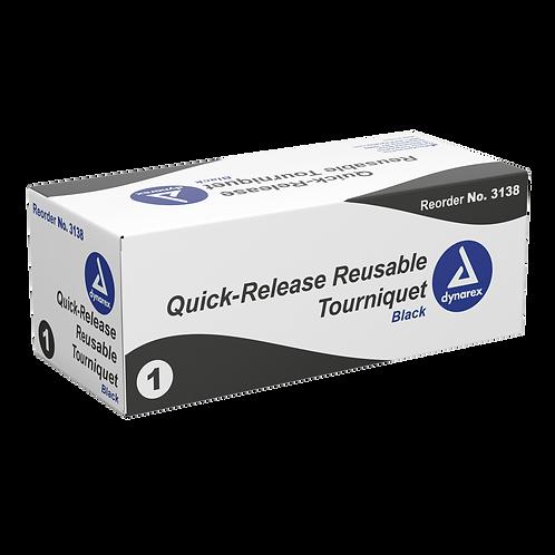 Quick-Release Reusable Tourniquets