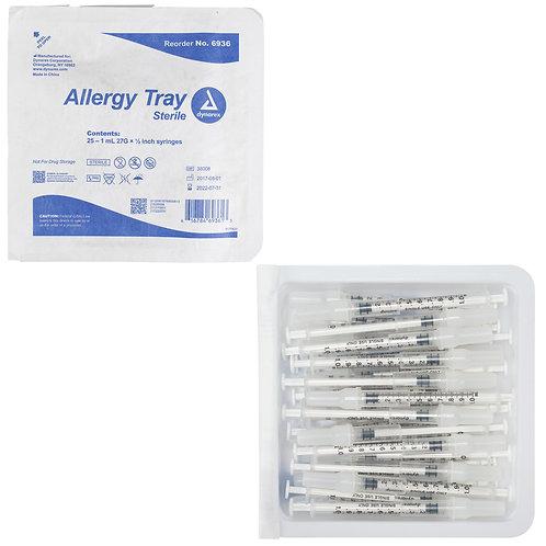 Allergy Syringe Tray
