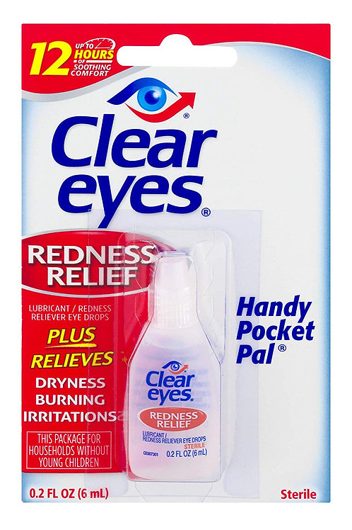 Clear Eyes Redness Relief 0.2 FL OZ (6 ml)
