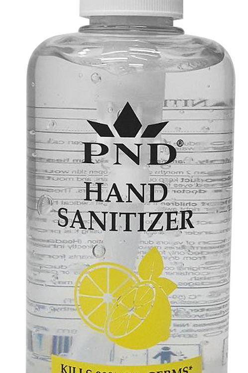 HAND SANITIZER 70% ALCOHOL 16.9OZ WITH PUMP