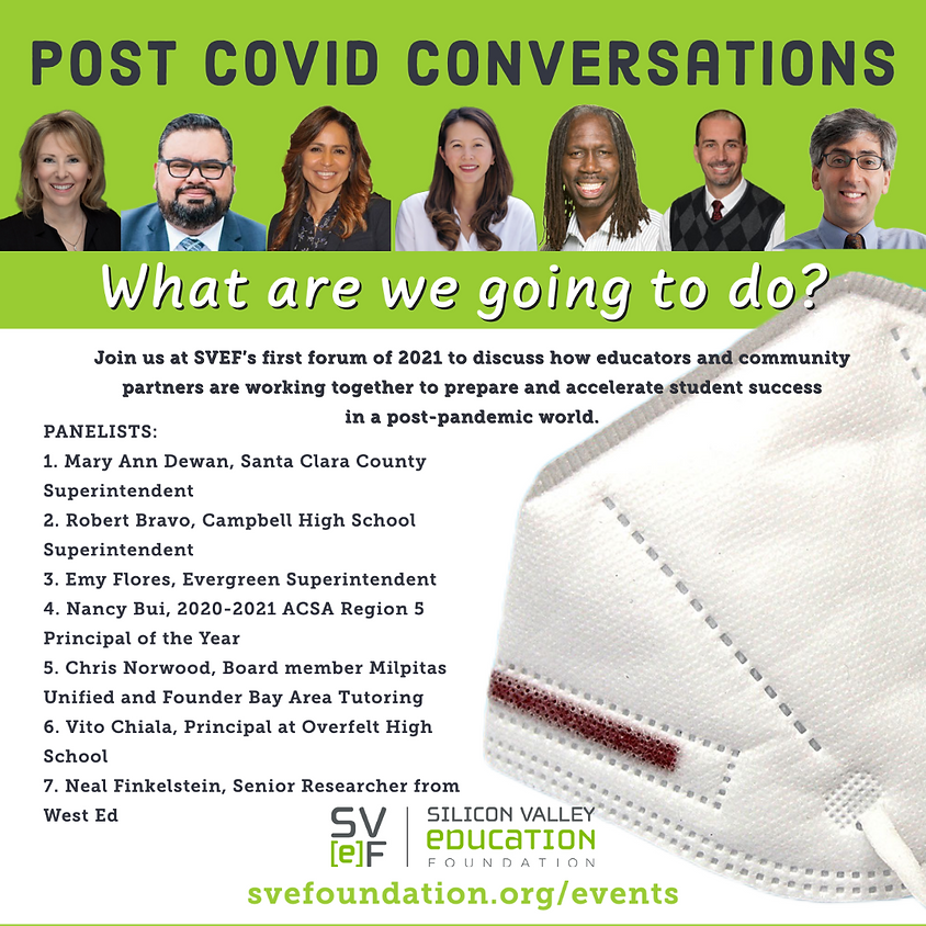 Post-COVID Conversations: What are we going to do?