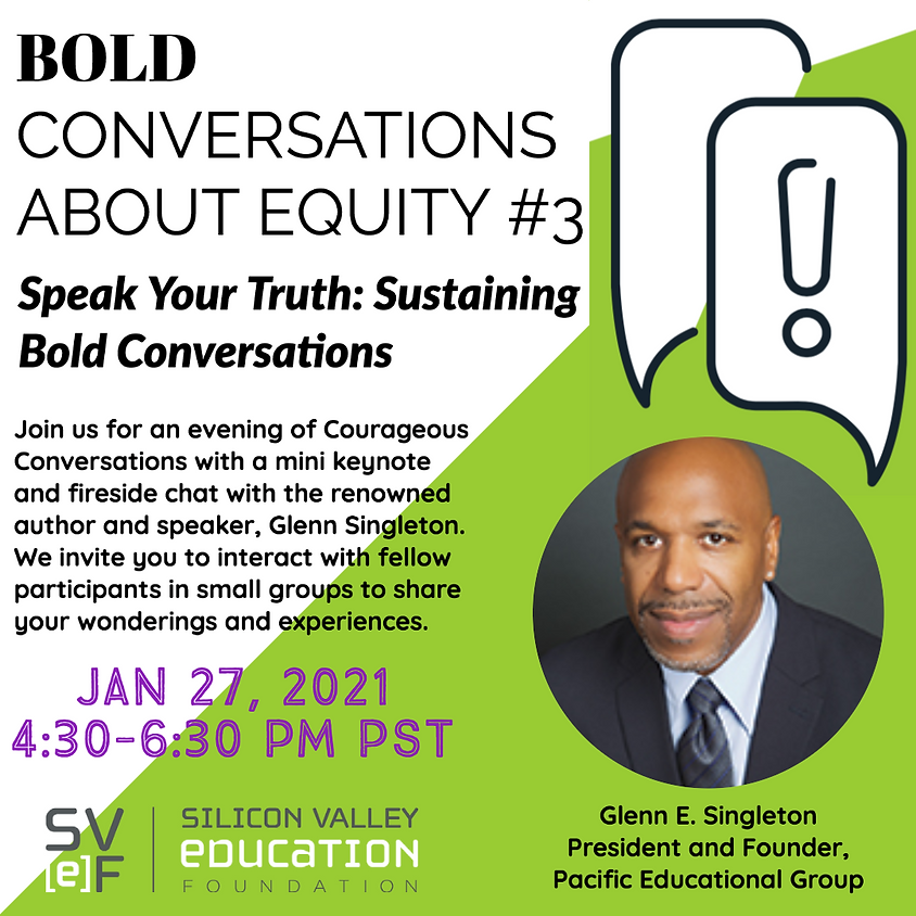 Bold Conversations About Equity #3