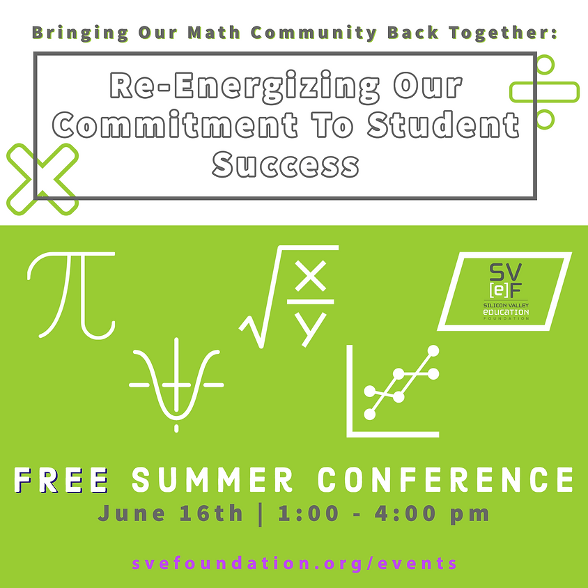 Bringing Our Math Community Back Together: Re-Energizing Our Commitment To Student Success