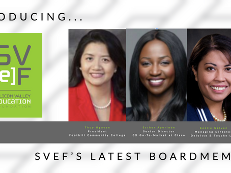 Introducing SVEF's Newest Board Members