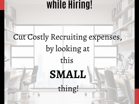 Cut your recruiting cost!