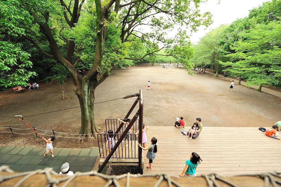綱島公園ログハウスモッキー