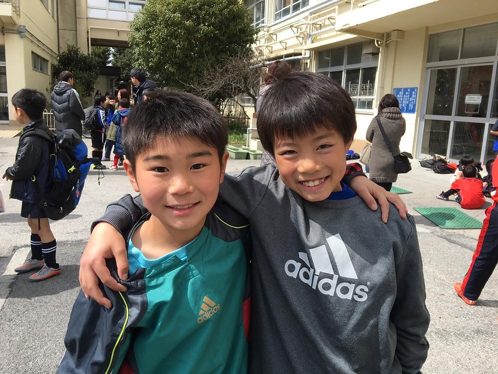 つばさ時代の五十嵐選手と富田選手