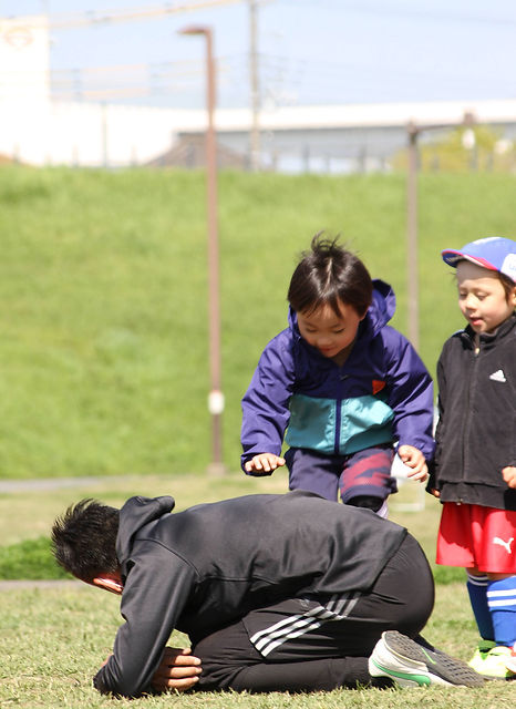横浜市港北区綱島日吉少年少女サッカークラブチーム横浜サッカークラブつばさの練習場所