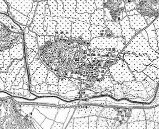 綱島の古い地図