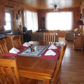 Inside Serenity Cottage.