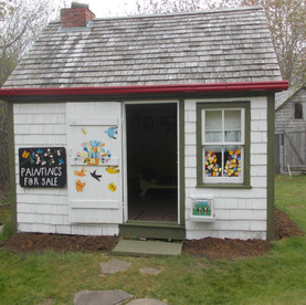 Come into the Maud Lewis tiny home.
