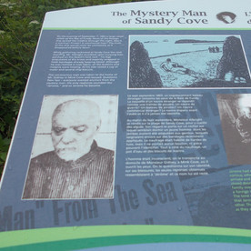 Stop and read about this mystery man before going to the beach.