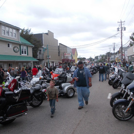 Wharf Rat Rally grows every year.  A great walk down main street.