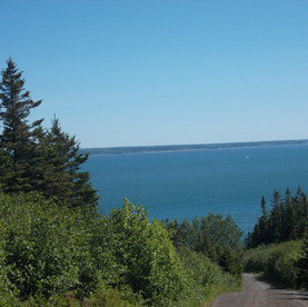 Saint Mary's Bay comes in sight.