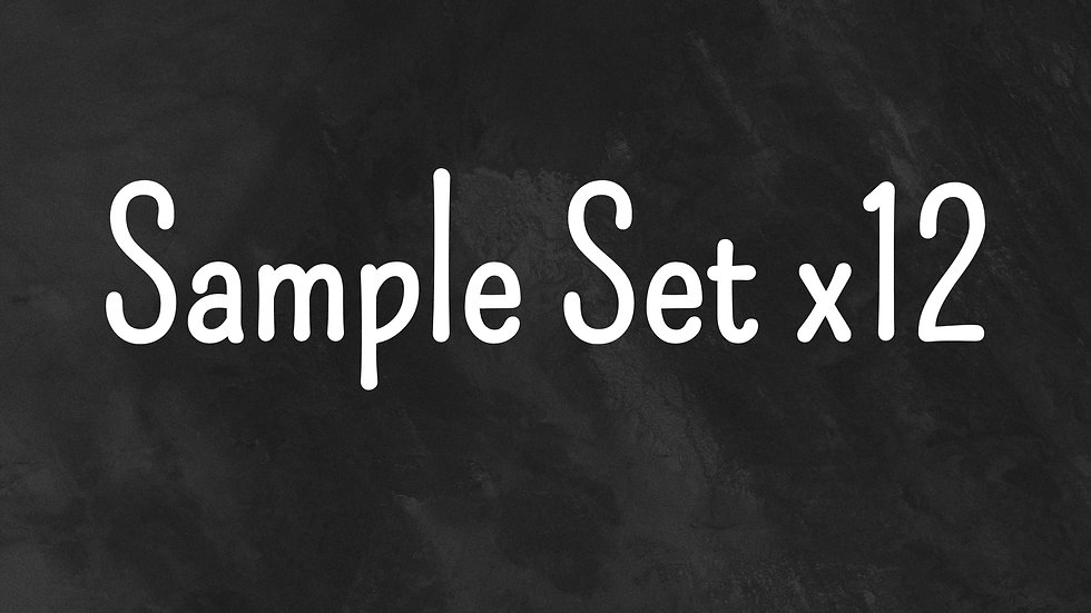 Sample Set 2ml x 12