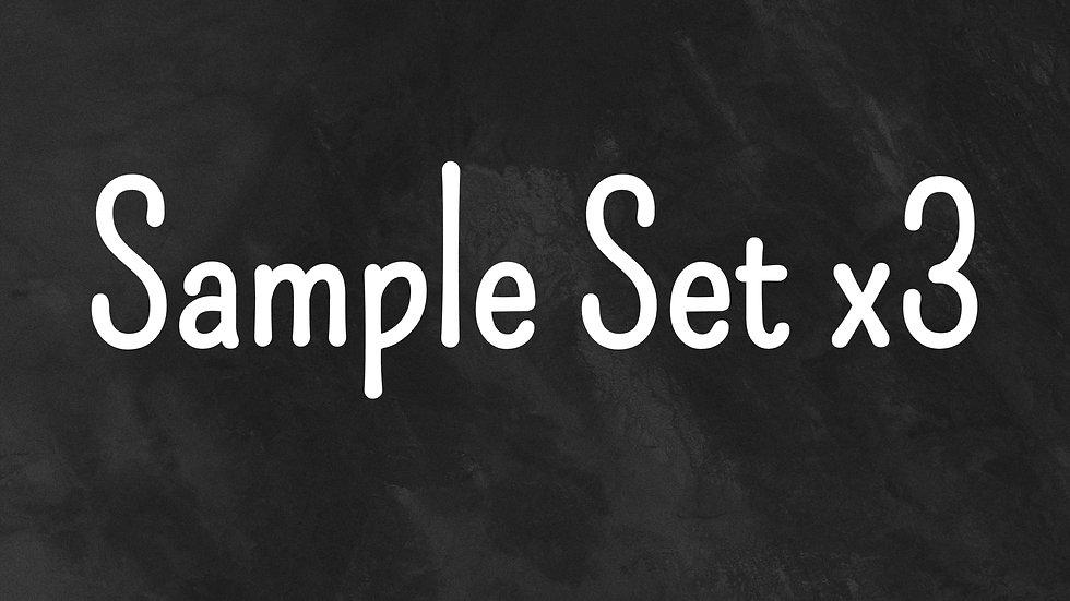 Sample Set 2ml x 3