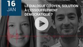 Libres, ensemble: le dialogue citoyen, solution à l'essoufflement démocratique?