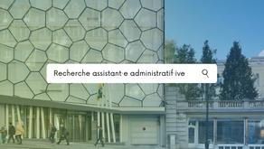 La Présidente du Parlement francophone bruxellois engage un·e assistant·e administratif·ive (H/F/X)