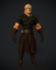 Digital 3D Characters Concept Art Game Art Blacksmith man game Characters fantasy Low-poly concept design concept character Game Art Digital 3Dsubstance painter