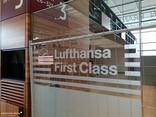 Terminal, Ebene E1 (Abflug) - Noch nicht ganz First Class...