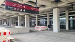 Ankunftsebene, Zugang zum Terminal