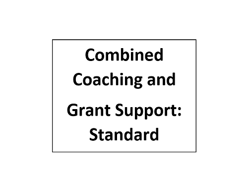 Combined Coaching and Grant Support: Standard