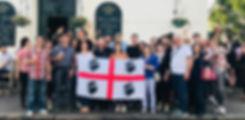 Sadinian Embassy meet up south kensington