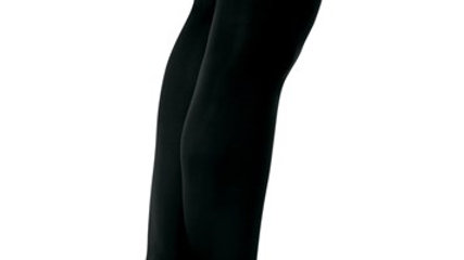 Capezio Convertible Black Tights