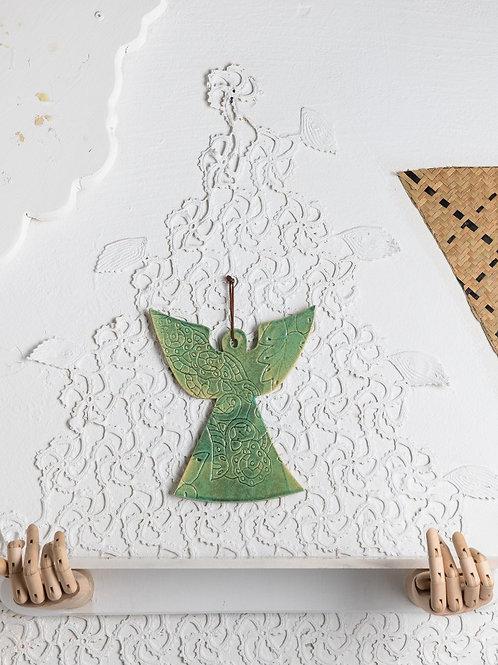 Înger ceramică