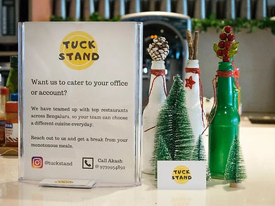 Best Food in Bangalore - Tuck Stand