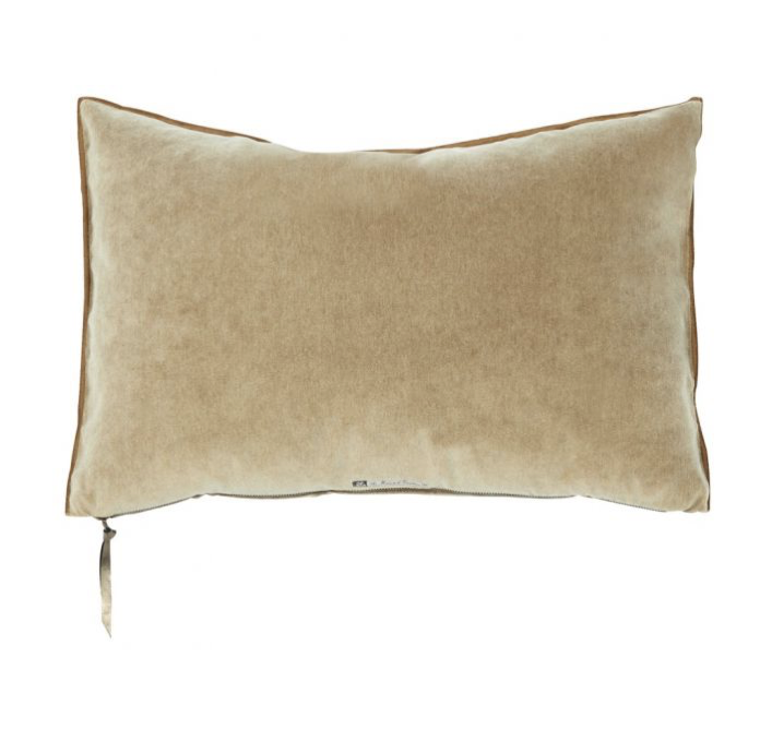 Coussin velours vintage