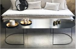Table beton ciré