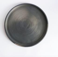 Assiette Ceramica nera  Ceramica nera